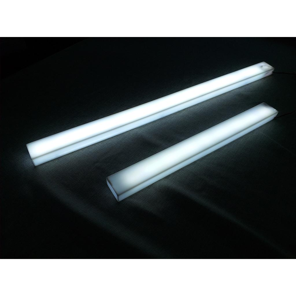 Rectangular LED lamp 2LED100